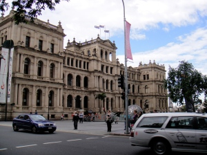 treasury building by day