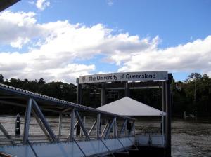 UQ ferry stop