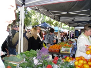 West End market on a Saturday morning