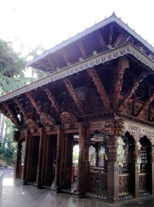 nepalese pagoda at south bank