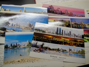 postcards from brisbane—im mailing these back :O)