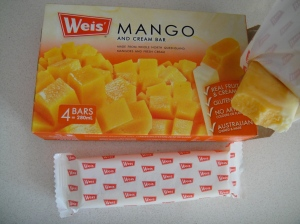 mango creme bar. this thing is amazing!