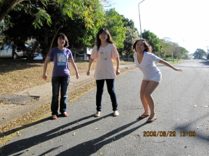 hahahhah getting ready for a random jumping picture.